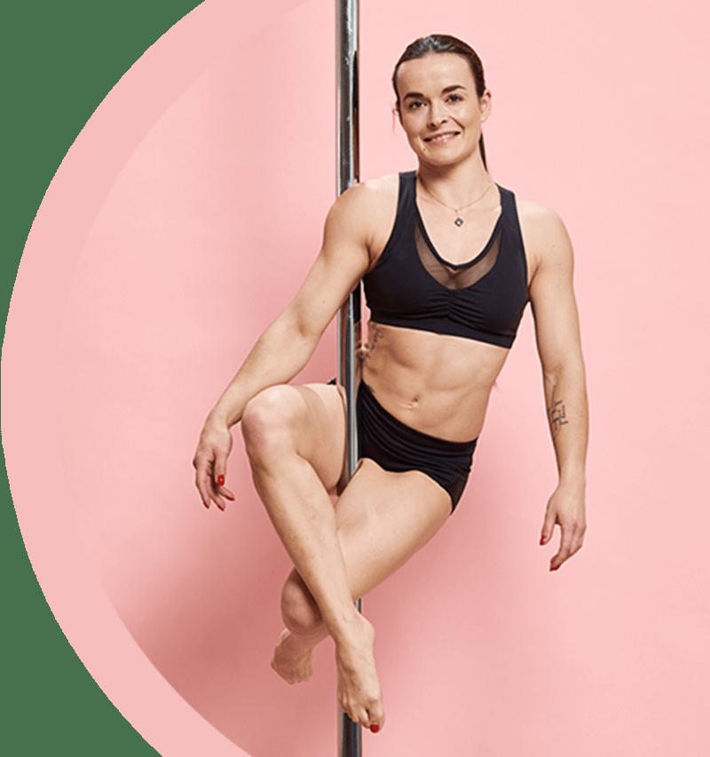 Cours débutant de pole dance